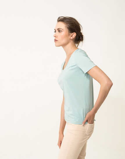 Noon sky blue T-shirt (3) - 1-2-3