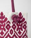 Pavel embroidered fuchsia bag (1) - 1-2-3