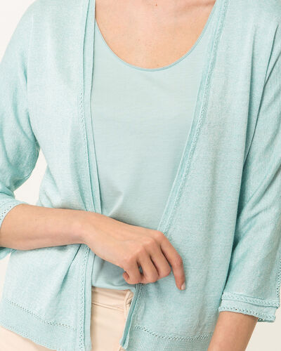 Hirondelle pale blue knitted jacket (1) - 1-2-3