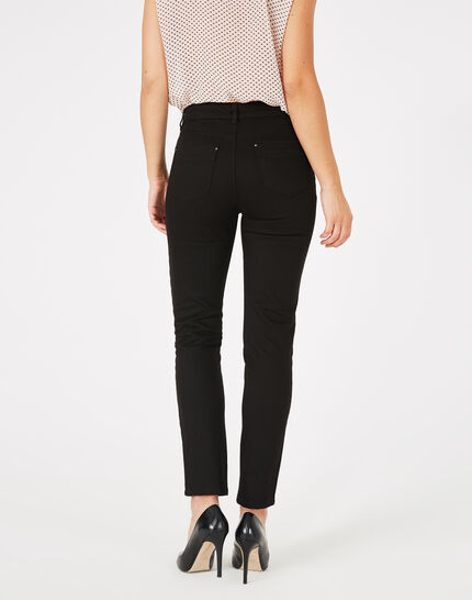 Oliver 7/8th length black jeans (3) - 1-2-3