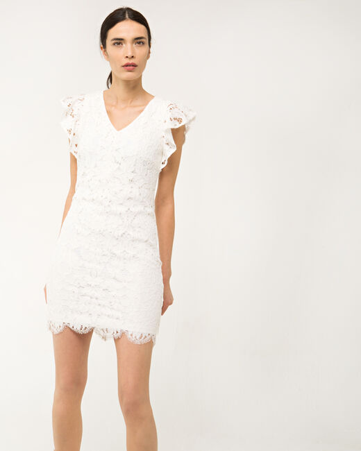 Faveur ecru guipure lace dress (1) - 1-2-3