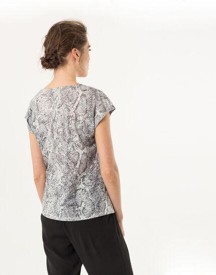 Tee-shirt imprimé reptile Nanaconda (3) - 1-2-3