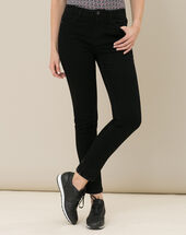 Oliver 7/8th length black jeans black.