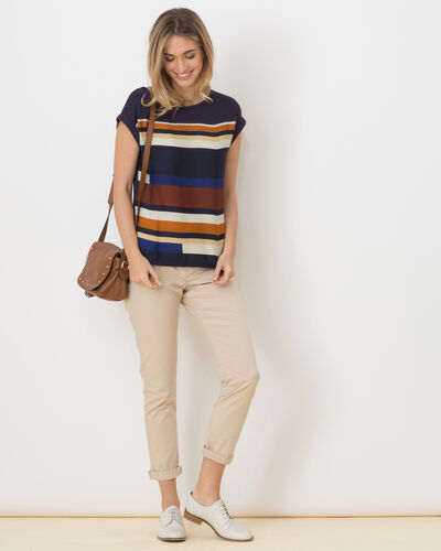 Lune blue striped T-Shirt (2) - 1-2-3