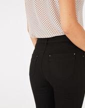 Oliver 7/8th length black jeans black.