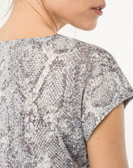 Tee-shirt imprimé reptile Nanaconda (4) - 1-2-3