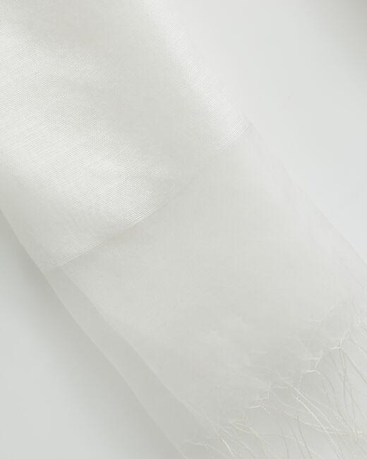 Ecrufarbene Seidenstola Maeva (2) - 1-2-3