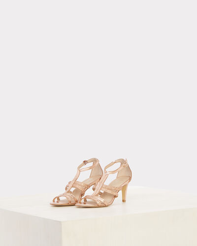 Jennie open-toed pink pumps (1) - 1-2-3