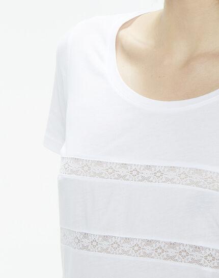 Nori striped white T-shirt (4) - 1-2-3