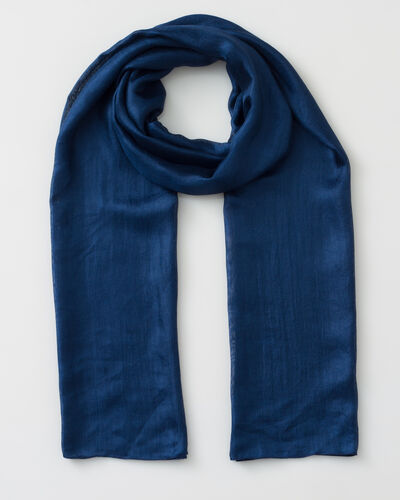 Foulard bleu Soyeuse (1) - 1-2-3