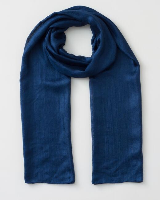 Soyeuse blue scarf (1) - 1-2-3