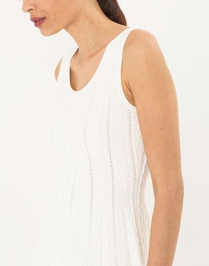 Blake white knitted dress (5) - 1-2-3