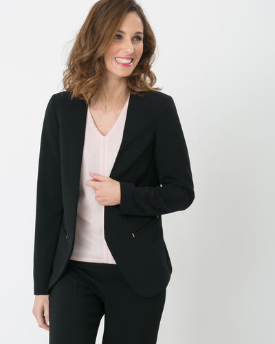 Maite black suit jacket (2) - 1-2-3