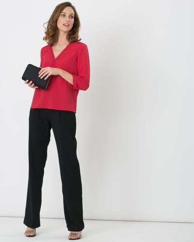 Rythme black trousers with buckle at the belt (1) - 1-2-3