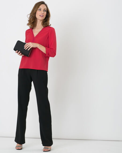 Pantalon noir boucle à la taille Rythme (2) - 1-2-3