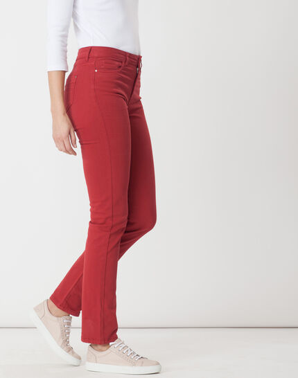 Victor straight-cut red trousers (3) - 1-2-3