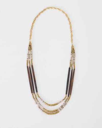 William golden ethnic necklace (1) - 1-2-3