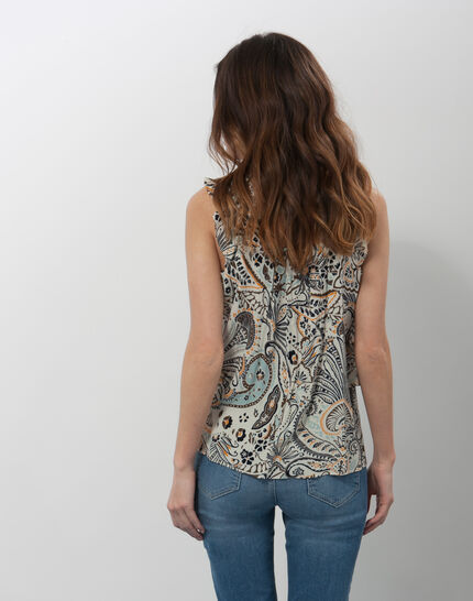 Ebahi floral printed top with frilly sleeves (6) - 1-2-3