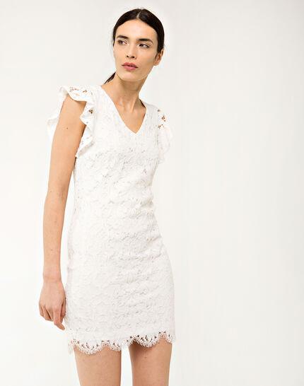 Faveur ecru guipure lace dress PhotoZ | 1-2-3