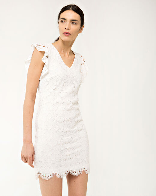 Faveur ecru guipure lace dress (2) - 1-2-3