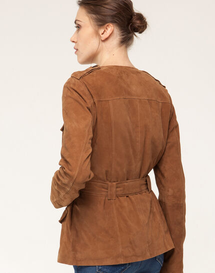 Gaspard camel safari jacket (5) - 1-2-3
