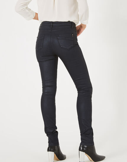 William coated navy blue trousers (5) - 1-2-3