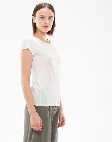 Tee-shirt brodé de fils lurex Nurex (5) - 1-2-3