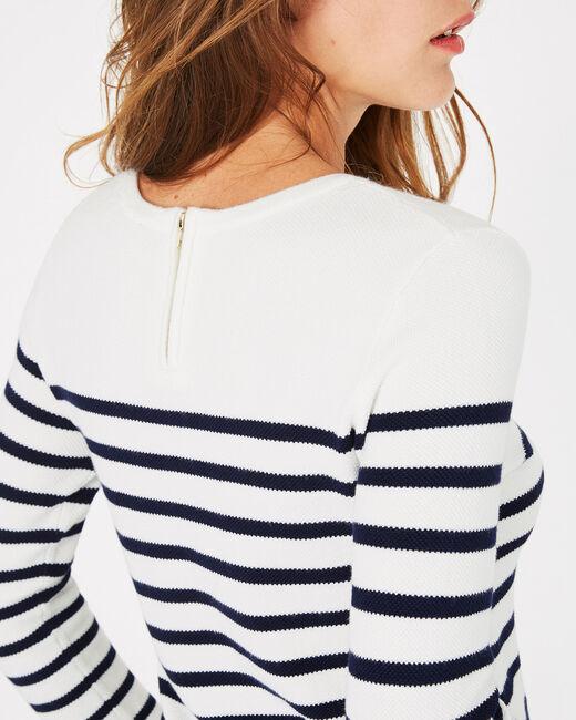 Panama navy-style sweater (2) - 1-2-3