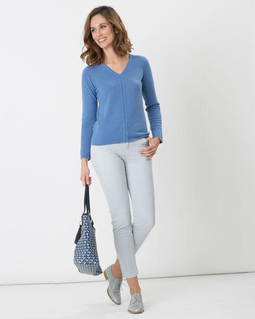 Pantalon bleu pâle 7/8ème Oliver (2) - 1-2-3