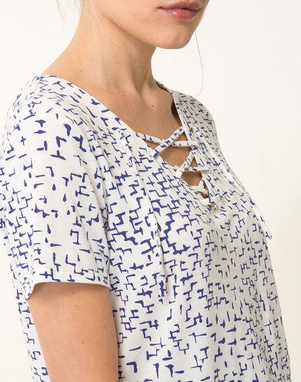 Tee-shirt graphique bleu roi Nuance (4) - 1-2-3
