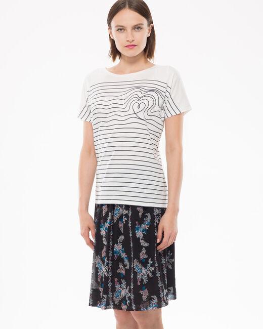 Tee-shirt rayé Noura (2) - 1-2-3