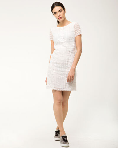 Robe blanche en dentelle Biba (1) - 1-2-3