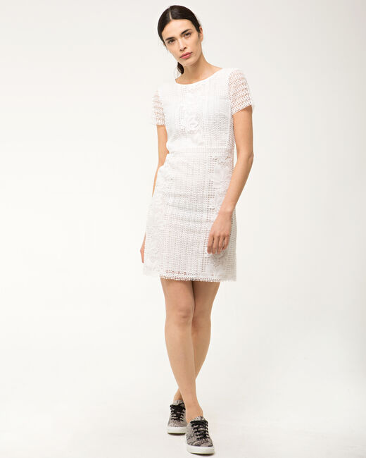 Biba white lace dress (1) - 1-2-3