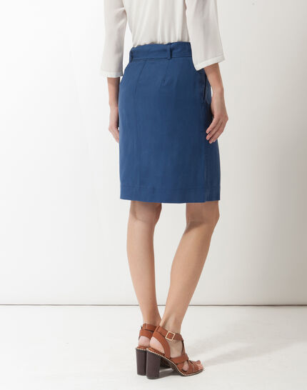 Dolce lyocell blue skirt (4) - 1-2-3