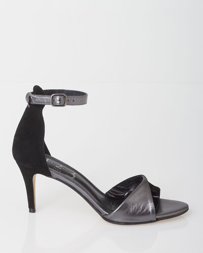 ZOELIE dual-fabric black pumps (2) - 1-2-3