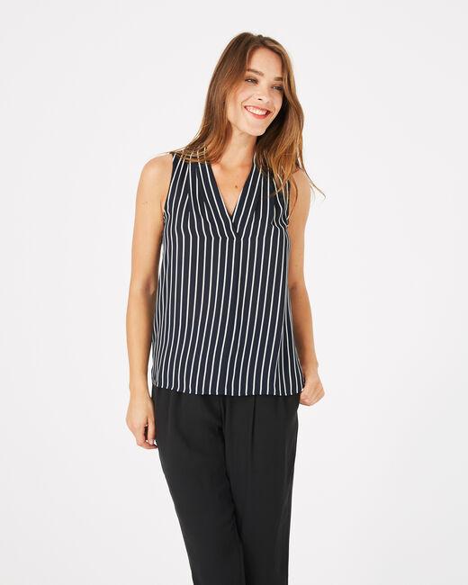 Diana striped sleeveless top (2) - 1-2-3