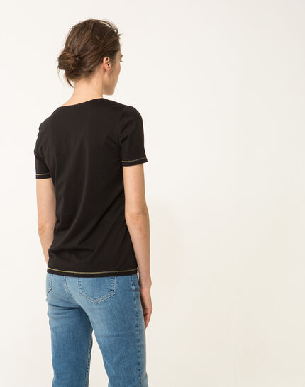 Noon black T-shirt (4) - 1-2-3