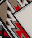 Sandro graphic print scarf PhotoZ   1-2-3