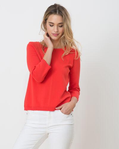 Hipster orangey sweater (1) - 1-2-3