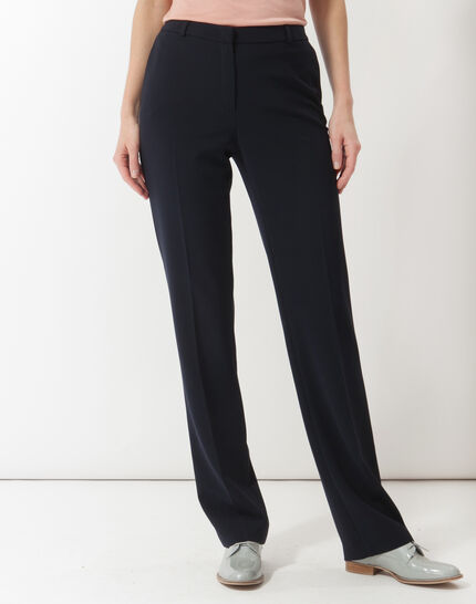 Natura tailored navy blue trousers (2) - 1-2-3