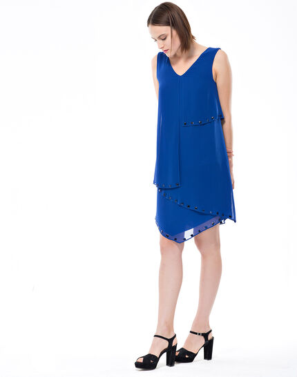 Fabienne floaty blue dress with cabochons (3) - 1-2-3