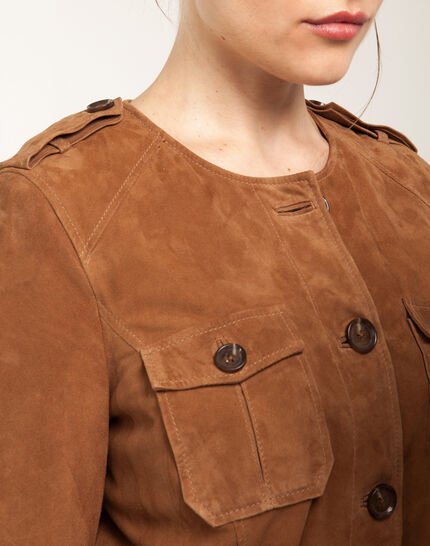 Gaspard camel safari jacket (6) - 1-2-3