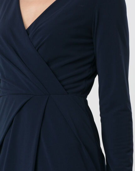 Bermude navy blue dress (2) - 1-2-3