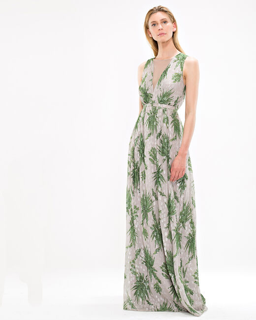 Fantasy long printed dress (1) - 1-2-3