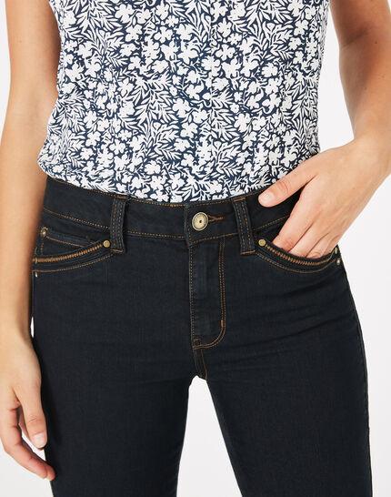 Pia 7/8th length black jeans PhotoZ | 1-2-3