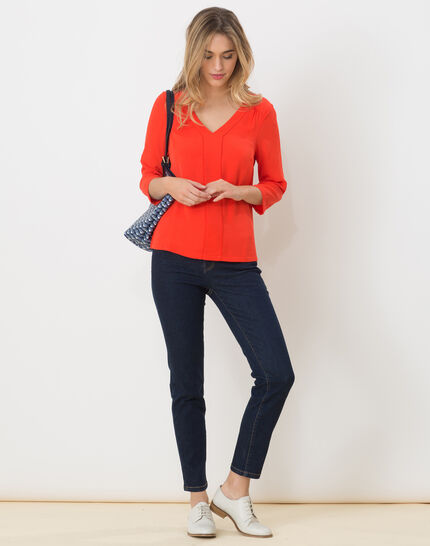 Nuage orangey T-Shirt (3) - 1-2-3