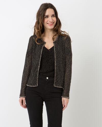 Katy black embroidered jacket (2) - 1-2-3