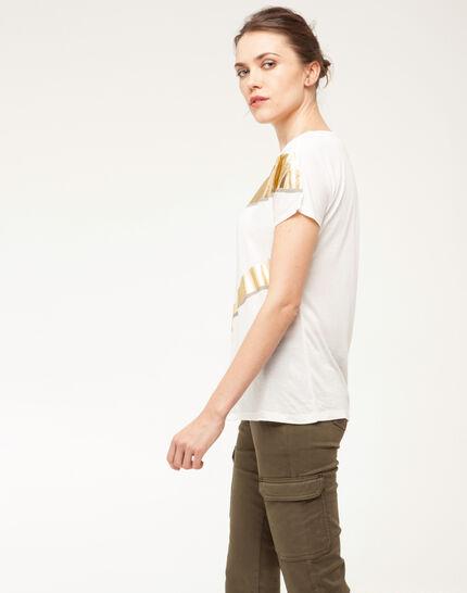 Tee-shirt imprimé brillant Nail (4) - 1-2-3