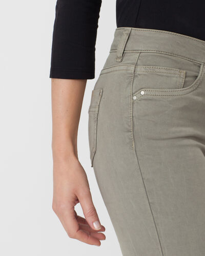 Oliver light khaki 7/8 length trousers (1) - 1-2-3