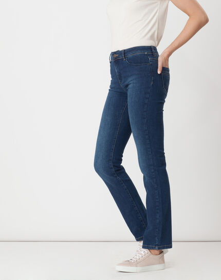 Victor straight stonewashed blue jeans (3) - 1-2-3